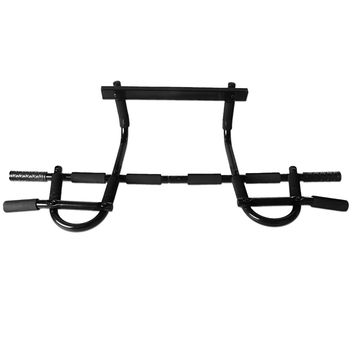 Chin Pull Up Bar Mounted Doorway Build Muscles Fitness Workout Home/Gym