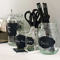 chalkboard labels by nutmeg | notonthehighstreet.com