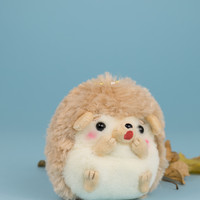 Amuse Harinezumi no Harin brown hedgehog plush