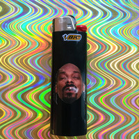 Snoop Dogg Custom Black Bic Lighter