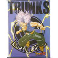 Dragon Ball Z Trunks Wall Scroll