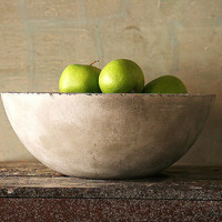 Concrete Fruit Bowl French Country