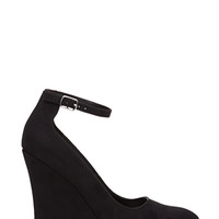 FOREVER 21 Pointed Ankle Strap Wedges