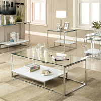 Cm4231Wh-C  Coffee Table  Vendi Collection