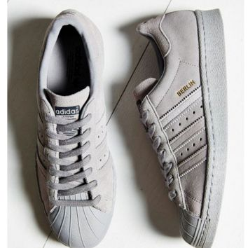 Adidas SUPERSTAR CITY SERIES Shell-top (6-color) Grey