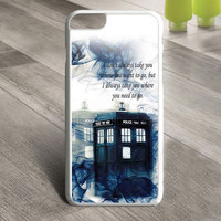 Tardis Doctor Who Police Box Smoke Quotes iPhone 6 Plus Case  Sintawaty.com