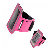 High Quality Soft Sports Armband for iPhone 4/4S Rose - Default