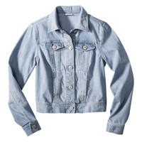 Mossimo Supply Co. Juniors Button Down Denim Jacket - Assorted Colors