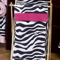 Baby And Kids Funky Zebra Clothes Laundry Hamper By Sweet