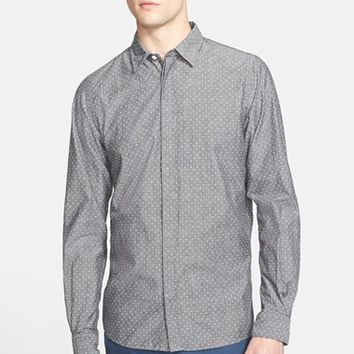 Men's Norse Projects 'Toke' Trim Fit Dot Print Shirt,