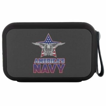 Americas Navy US Flag Eagle Wireless Bluetooth Speaker Thumpah
