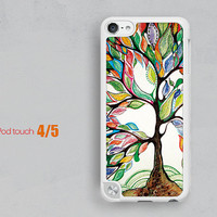 abstract tree Ipod touch 4 cases,ipod touch 5 cases,ipod touch cases 4,hard ipod touch cases 5