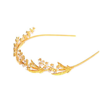 Lily of the Valley Branch Headband