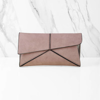 Paulina Envelope Cross Body Clutch
