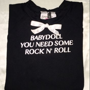 SWEET LORD O'MIGHTY! ROCK N ROLL BABYDOLL