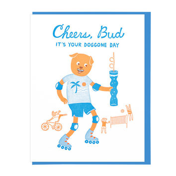 Cheers Bud Greeting Card