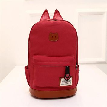 Women Campus Girls Travel Young men Backpack Bags  School Bags