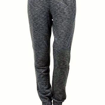 Speckled Knit Skinny Fit Jogger Pants