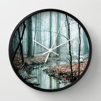 Gather up Your Dreams Wall Clock by Olivia Joy StClaire