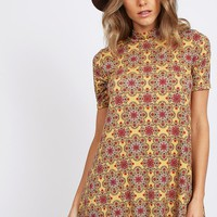 Sacred Dreams Printed Dress | Threadsence