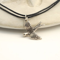 FLYING BIRD NECKLACE by Cheydrea