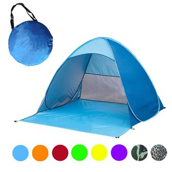 Automatic quickly erected Camping Tent Pop Up Portable Beach Canopy Sun Shade Shelter Outdoor Fishing Tent Just $39.99