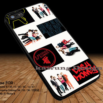 Cash Money 5 Seconds Of Summer iPhone 6s 6 6s+ 5c 5s Cases Samsung Galaxy s5 s6 Edge+ NOTE 5 4 3 #music #5sos DOP2129