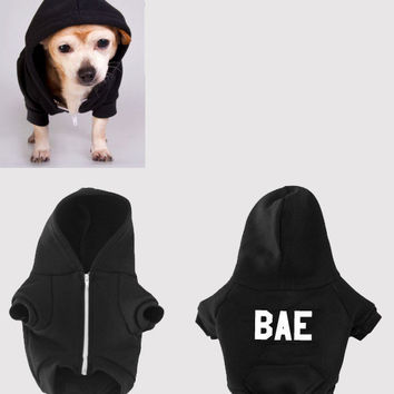 New BAE dog hoodie (American Apparel)