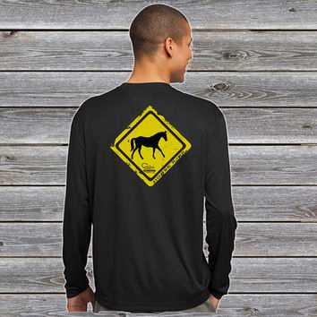 Horse Crossing Series UPF Long Sleeve Shirt