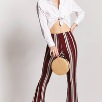 Stripe Flare Pants