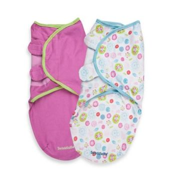 Summer Infant® Size Small/Medium Cotton SwaddleMe® 2-Pack in Pretty Petals