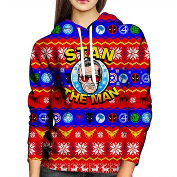 Stan The Man Womens Hoodie