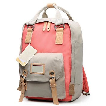 Teenage Girls Kanken Backpack Student Canvas Travel Laptop Bag Women Casual School Bags Mochila Stacy Bag Patchwork Rusksack