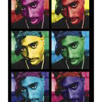Tupac 'Pop Art' Blacklight Poster