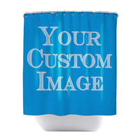 Made to Order CUSTOM Shower Curtain - Submit Your Artwork, Design, Photograph