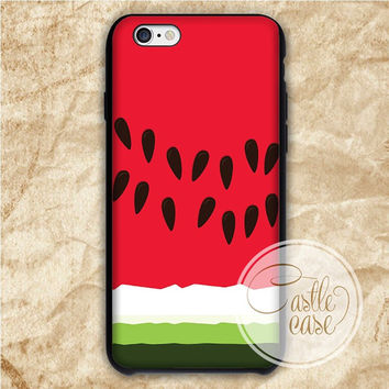 Watermelon iPhone 4/4S, 5/5S, 5C Series Hard Plastic Case