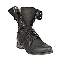 Steve Madden - CAMARRO BLACK DISTRESSED