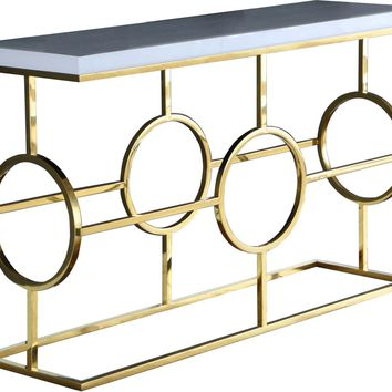 Brooke Gold Console Table