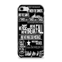 Hamilton Wait for it Lyrics iPhone 6 | iPhone 6S Case