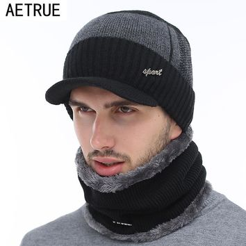 AETRUE Winter Hats Skullies Beanies Hat Winter Beanies For Men W c3f3a8e8f0de