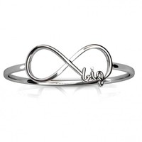 Big Sis Infinity Ring | A-List Greek Designs