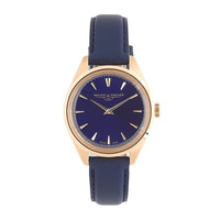 Mougin & Piquard™ for J.Crew Minuit watch in navy - watches & watch straps - Men's accessories - J.Crew