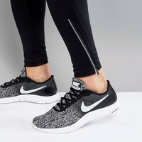 Nike Running Flex Contact Trainers In Black 908983-001 at asos.com