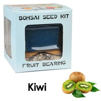 Eve's Kiwi Bonsai Seed Kit, Fruit-Bearing, Complete Kit to Grow Kiwi Bonsai from Seed