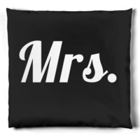 Mrs. Pillow Part of Matching Wedding His and Hers Set