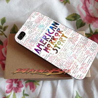 American Horror Story Quotes Galaxy for iPhone 4/4s Case, iPhone 5/5s Case, iPhone 5C Case, Samsung S3 i9300 Case, Samsung S4 i9500 Case