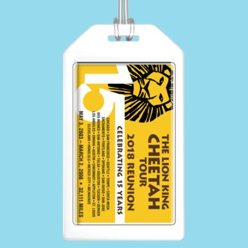 The Lion King Luggage Tag