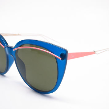 Dior Liner UGTVD Blue Light Gold Sunglasses