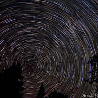 Spinning the Night Sky- Astro Photography, Nature Photography, Nightscape, Stars