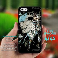 Metal Gear Solid - Design for iPhone 4/4S Black Case